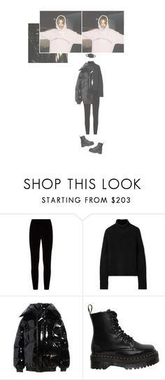 """""""— CELEBRATING THE NEW YEAR"""" by ohsoyoung ❤ liked on Polyvore featuring Eileen Fisher, Burberry, Vetements and Dr. Martens"""