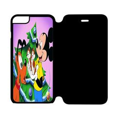 Mickey Mouse, Pluto, Chip and Dale iPhone 6 Flip Case Cover
