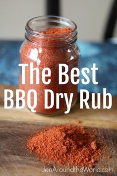 Today I am sharing with you how simple and easy it is to make your own seasoning mixes at home. This one is for the best bbq dry rub you will ever make. Dry Rub Recipes, Rib Recipes, Smoker Recipes, Spinach Recipes, Chicken Recipes, Recipies, Homemade Spices, Homemade Seasonings, Bbq Dry Rub