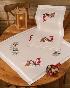 Rico Design, Cross Stitching, Needlepoint, Needlework, Embroidery, Runner, Christmas, Fabrics, Amazon