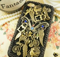Antique in Myth DIY deco phone case kit  deco by MegaSuperStore, $6.90