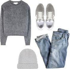 Nice shades of grey - comfy and a bit sporty set
