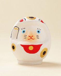 【招き猫だるま】【包装】【のし】