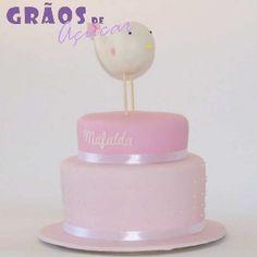 Passarinho   Recortado   bolo 1 aniversario   Grãos de Açúcar - Bolos decorados - Cake Design Cake Design, Cotton Candy, 1, Sugar Paste, Decorating Cakes, Cotton Candy Favors