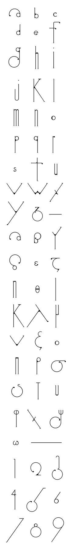 Futuracha é uma fonte ornamental criada pelo designer grego Odysseas Galinos – Paparounis (ou simplesmente Odysseas GP). Baseada na estrutura da fonte Futura (daí o nome), a tipografia não fo…