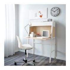 IKEA IKEA PS 2014 bureau Cable outlet for easy cable management.