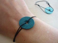 bracelet en pâte à sel pour la fête des mères #fêtedesmères #pâteàsel #DIY #cadeau