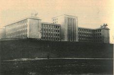 Scoala Superioara de Razboiu din Bucuresti cu putin timp inainte de inaugurarea cladirii din 6 decembrie 1939