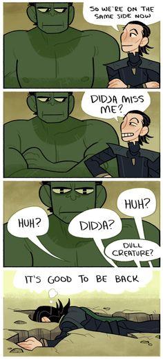 Thor: Ragnarok || Hes so good at making friends