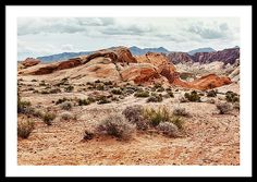 Framed Print featuring the photograph Hopes And Dreams by Evgeniya Lystsova. Scenic Landscape of desert at Valley of Fire State Park, southern Nevada, USA. Perfect Decoration for your Home / Office Decor and Interior Design. Inspiring Art Work for you or a friend. Bring your print to life with hundreds of different frame and mat combinations. #EvgeniyaLystsovaFineArtPhotography #Landscape #Desert #Nature #Prints #HomeDecor