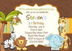 Items similar to SAFARI jungle birthday invitation printable -digital on Etsy Safari Invitations, Superhero Birthday Invitations, Photo Invitations, Printable Birthday Invitations, Invitation Wording, Invitation Ideas, Shower Invitations, Invites, Animal Themed Birthday Party