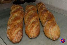 Frans stokbrood recept op basis van witte zuurdesem - t65 - Amerikaans patentbloem