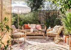 Boho Lounge, Bohemian Patio, Outdoor Lounge, Outdoor Areas, Outdoor Living, Outdoor Decor, Garden Furniture, Outdoor Furniture Sets, Garden Club