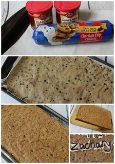 Be sure to check out this Homemade Great American Cookie Cake Recipe! Cut down on your Birthday Cake Cost with this Delicious Cookie Cake Recipe! Pillsbury Cookie Cake, Homemade Cookie Cakes, Giant Cookie Recipes, Giant Cookies, Cookie Pizza, Cake Cookies, Easy Cake Recipes, Easy Desserts, Delicious Desserts