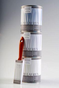 Pacakaging re-design Ralph Lauren Paint (educational) on Behance