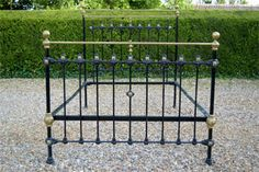 Coast to Country Antique Bedsteads French Beds Victorian Brass and Iron