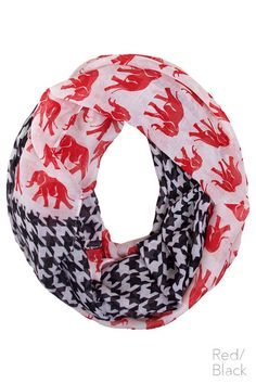 elephant and houndstooth infinity *** wholesale