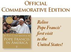 Advent daily readings   Pope Francis Commerative Book on the 2015 Papal Visit to the United States