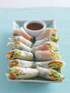 Vietnamese fresh spring rolls - and the other recipes from the fab World Kitchen TV series