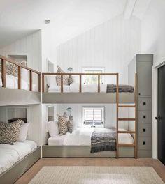 Bunk Bed Rooms, Bunk Beds Built In, Cool Bunk Beds, Building Bunk Beds, Best Bunk Beds, Bunk Bed Rail, Corner Bunk Beds, Murphy Bunk Beds, Cabin Bunk Beds