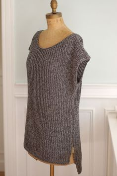 Mimic Pullover By Veronika Jobe - Free Knitted Pattern - (ravelry)
