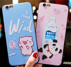 Kawaii Pig And Panda Phone Case for iphone Max ●Material: silicone. ●About Shipping: We attach great importance to the orders of each customer and parcel delivery. Eye Phone Case, Kawaii Phone Case, Funny Phone Cases, Girl Phone Cases, Phone Cases Iphone6, Cell Phone Covers, Cell Phone Holder, Iphone Cases, Coque Iphone