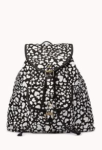 Crazy Hearts Backpack from F21.