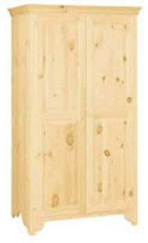 Wardrobe, Available In Pine, Maple U0026 Oak   Unfinished Furniture Of New  Jersey,