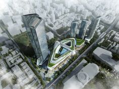 Located on Jinghan Avenue in the bustling Qiaokou District, the commercial and business heart of Wuhan with light rail and mass transit railway accessibility, this is a mixed-use development which comprises a world-class shopping mall, a Grade-A office tower and serviced apartments.