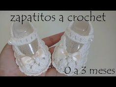 zapatitos para bebe a crochet - YouTube Crochet Baby Bibs, Crochet Baby Clothes, Crochet Shoes, Baby Knitting, Baby Girl Princess, Princess Shoes, Toddler Girl Style, Toddler Fashion, Toddler Outfits