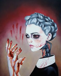 I'm a São Paulo-based peruvian/japanese painter and illustrator who loves painting girls. My illustrations are not only about women posing, they are a state of mind. Desenhos Halloween, Arte Obscura, Wow Art, Cyberpunk 2077, Pop Surrealism, Arte Pop, Pics Art, Dark Art, Art Girl