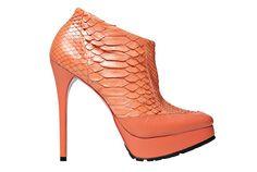 Ankle boot de cobra da Zeferino (R$ 1.394)