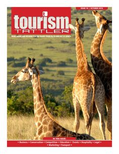 Our October edition front cover features a tower of South African giraffes recently released at Lalibela Private Game Reserve in the Eastern Cape as part of their extensive game repopulation project (read more on page As of a maximum of African Giraffe, Private Games, Out Of Africa, Game Reserve, Conservation, Magazines, Transportation, Tourism, October