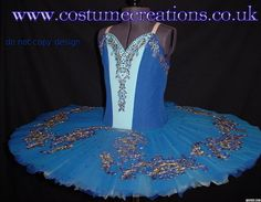 SHADES OF BLUE  tutu  made for competition -  by Tutu Couturier Monica Newell  www.costumecreations.co.uk   UK