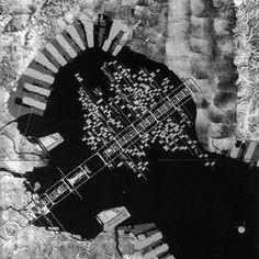Proyecto para la Bahía de Tokyo, Kenzo Tange, 1960.