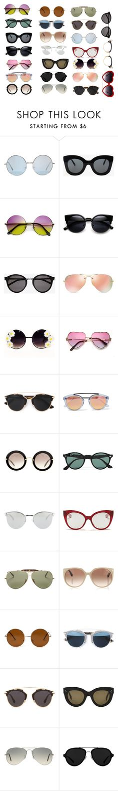 """""""Untitled #131"""" by softic-23 ❤ liked on Polyvore featuring CÉLINE, Yves Saint Laurent, Ray-Ban, Christian Dior, Westward Leaning, Miu Miu, Fendi, Tom Ford, Forever 21 and 3.1 Phillip Lim"""