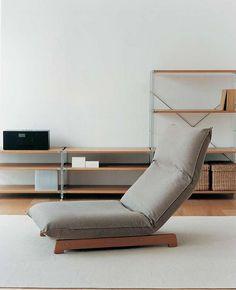 Japanese Muji Floor Chair Designs For Your Cozy Room - Muji Furniture, Furniture Decor, Modern Furniture, Furniture Design, Furniture Stores, Furniture Cleaning, Victorian Furniture, Primitive Furniture, Furniture Websites