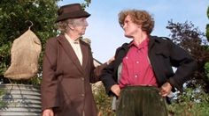 A murder is announced. Miss Marple and Miss Hinchcliffe