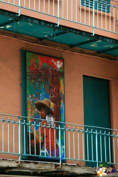 Street Art Martinique - Fort de France -  © AliZéMédia