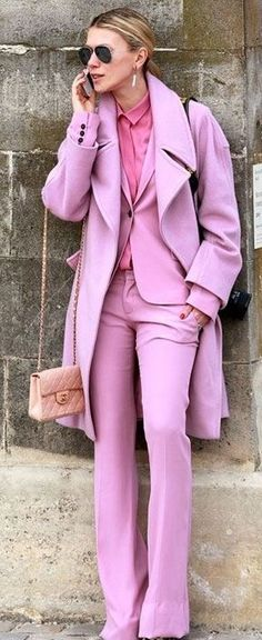 All pink everything.