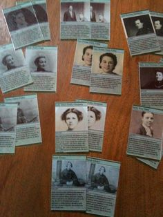 Olive Tree Genealogy Blog: Genealogy Games for a Family Reunion - Part 2 (Ancestor Cards)