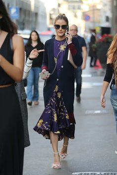Olivia Palermo At Milan Fashion Week IV