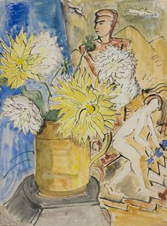 erich heckel paintings   Erich Heckel: Aquarelle und Druckgraphiken 1910-1955