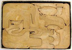 Enzo Mari puzzle 16 animali 1960