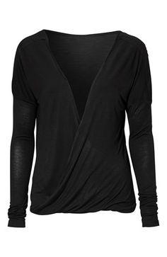Super fede ONLY Bluse Trini Sort fra Halens ONLY Overdele til Dame i behageligt materiale