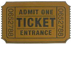 Deurmat Ticket  Heb je wel eens eerder een toegangskaart bij de deur zien liggen?