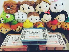 This amazing collection of Tsums wants to remind us all: Don't forget that we have tarts available in every scent!  Do you have a favorite Tsum Tsum?  Free Shipping on all domestic orders over $50!! Although we will be delayed a few days due to Hurricane Matthew we expect to be able to ship everything by Tuesday when the post office reopens!   Thank you @allisonphudson for this absolutely adorable shot!! Tag us @anthologycandles in your pics for a chance to be featured!    #anthologycandles…