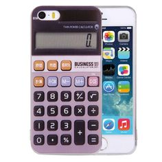 [$0.82] For iPhone 5 & 5s & SE Calculator Pattern TPU Protective Case