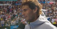 Some interviews for various media outlets after Rafa's victory over Anderson.
