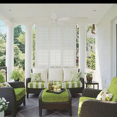 Love this privacy pergola....what about using some big old shutters??